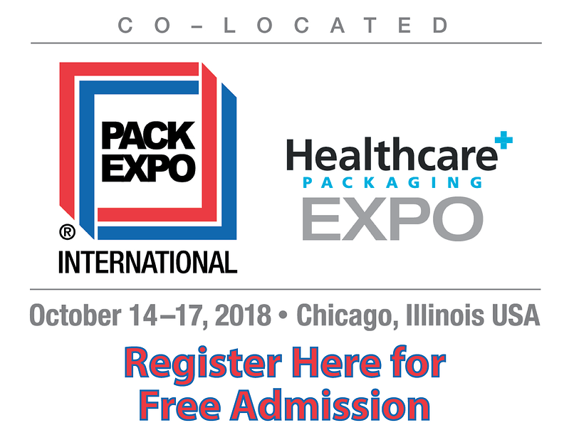 Pack Expo email free admission 2018-01-1